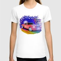 mustang T-shirts featuring 65 Mustang by JT Digital Art
