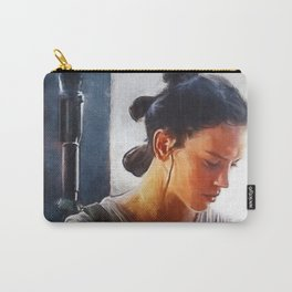 Rey (daisy ridley) Carry-All Pouch