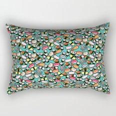 Aqua Sushi Rectangular Pillow