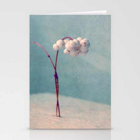 snowberries II Stationery Cards