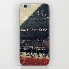 The red wall iPhone & iPod Skin