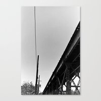 milwaukee Canvas Prints featuring Milwaukee & Leavitt by Ciara Shook