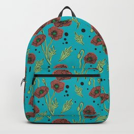Icelandic Poppies Backpack