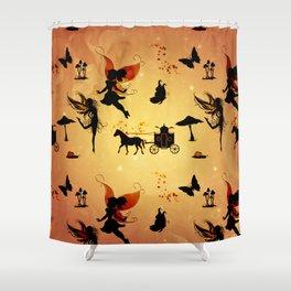 Cute fairy pattern Shower Curtain