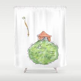 Planetas Shower Curtain