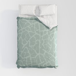 Crackle in Aqua Blue Comforters
