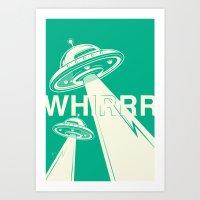 Whirrr Art Print