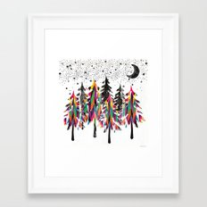 Black Forest Framed Art Print