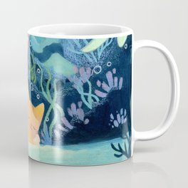 Cat fishes Coffee Mug