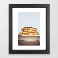 Wake Up and Smell the Pancakes Framed Art Print
