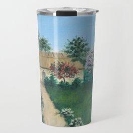 Cherry Blooming Travel Mug