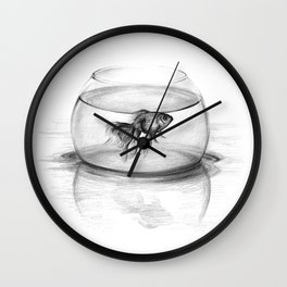 Just one wish Wall Clock