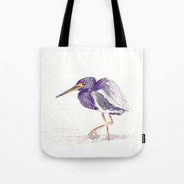 Tricoloured Heron Tote Bag