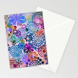 Abstract Composition 492 Stationery Cards