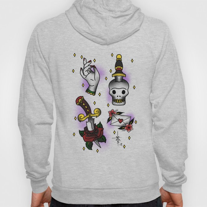 Sparkles and Knives Hoody