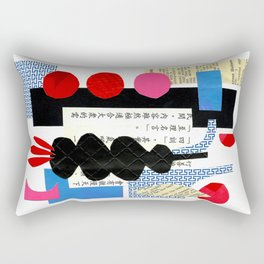 'under three moons ...' Rectangular Pillow