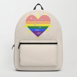 WE 'RE (WITH) THE QUEER! Backpack