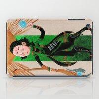 tarot iPad Cases featuring Loki Tarot by ARTeapot SHOP