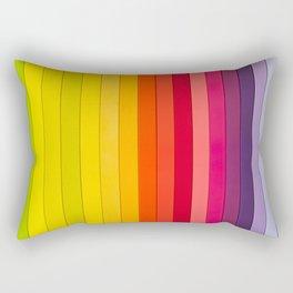 Colors Rainbow Rectangular Pillow