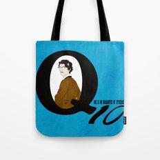 Q: Age Is No Guarantee of Efficiency Tote Bag