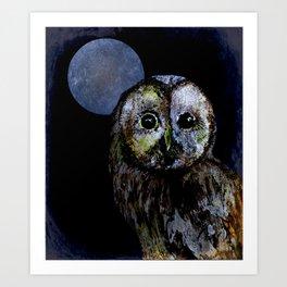 The Night Owl Art Print