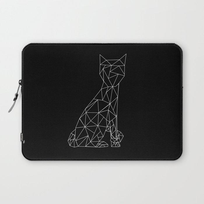 Eleven Quads Cat Laptop Sleeve