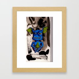 grem6 Framed Art Print