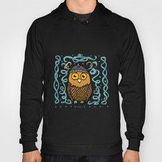 Brave Viking Owl Hoody
