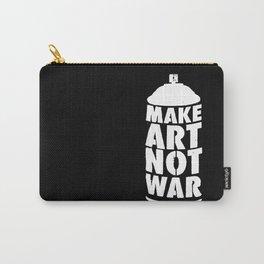 MAKE ART NOT WAR Carry-All Pouch