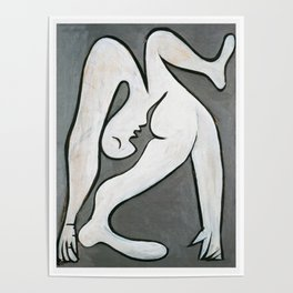Pablo Picasso Le Acrobat, 1930, Artwork Reproduction, Tshirts, Prints, Posters For Men, Women, Youth Poster