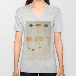 Naturalist Mushrooms Unisex V-Neck