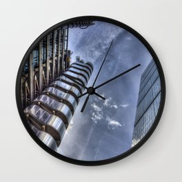 Lloyd's and the Cheese Grater  Wall Clock