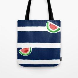Seaside watermelon Tote Bag