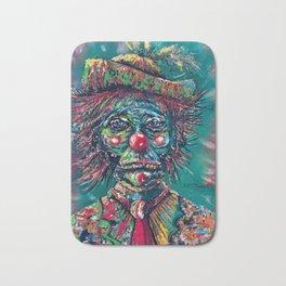 Trumpy Clown Bath Mat
