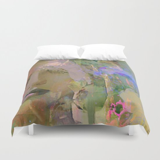The nameless girl Duvet Cover
