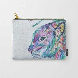 Tiger in the Garden Carry-All Pouch