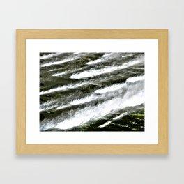 Misty Waters Framed Art Print