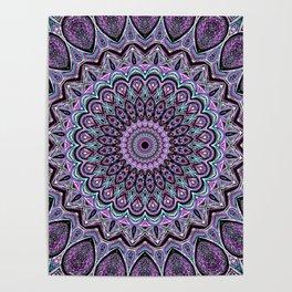 Blackberry Bliss - Mandala Art Poster