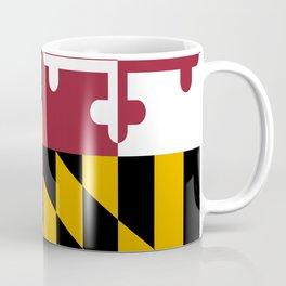 flag of maryland-america,usa,Old Line State,marylander, America in Miniature,Baltimore,Columbia Coffee Mug