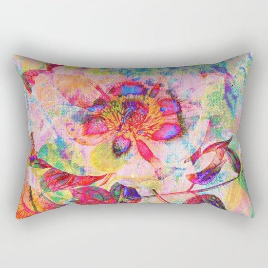 abstract anemone Rectangular Pillow