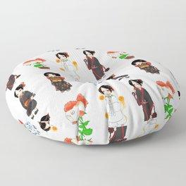 Hoozuki S2 Patterns Floor Pillow