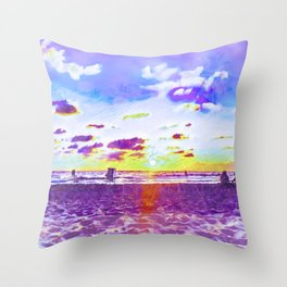 Come Out Of Your Shell Throw Pillow