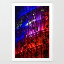 Colours I Art Print