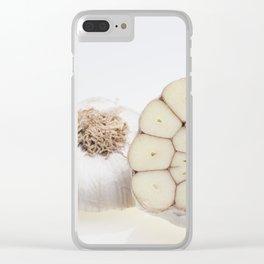 garlic Clear iPhone Case