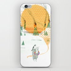 Beach House - Norway iPhone & iPod Skin