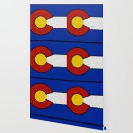 Fancy Flag: Colorado Wallpaper