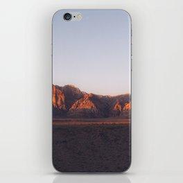 Red Rocks Canyon Nevada Desert Mountains Landscape iPhone Skin