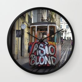 Funicular Wall Clock