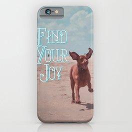 Vizsla Joy iPhone Case