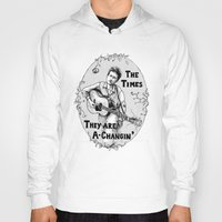 bob dylan Hoodies featuring Bob Dylan by Required Animals